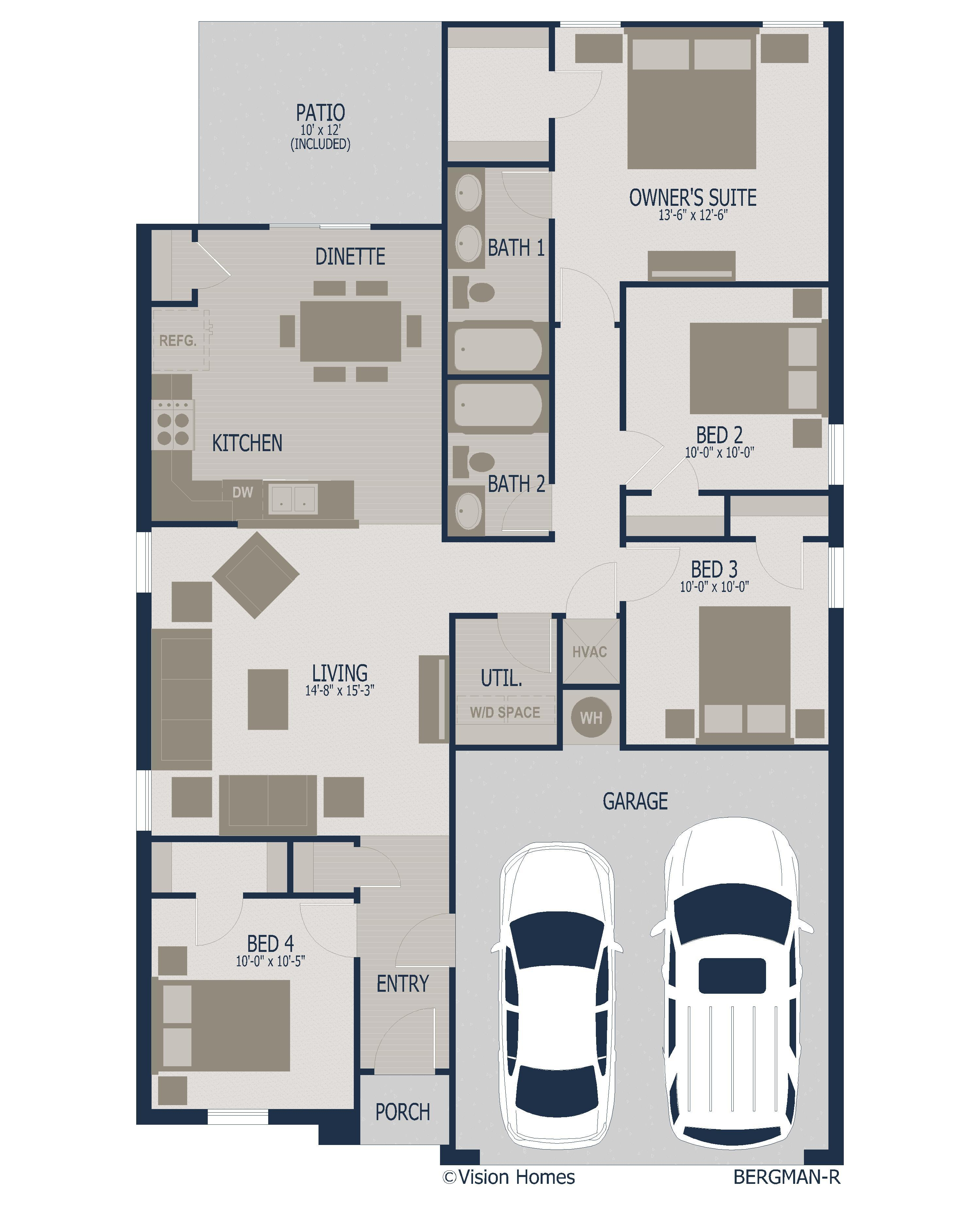 Flex Plan floorplan