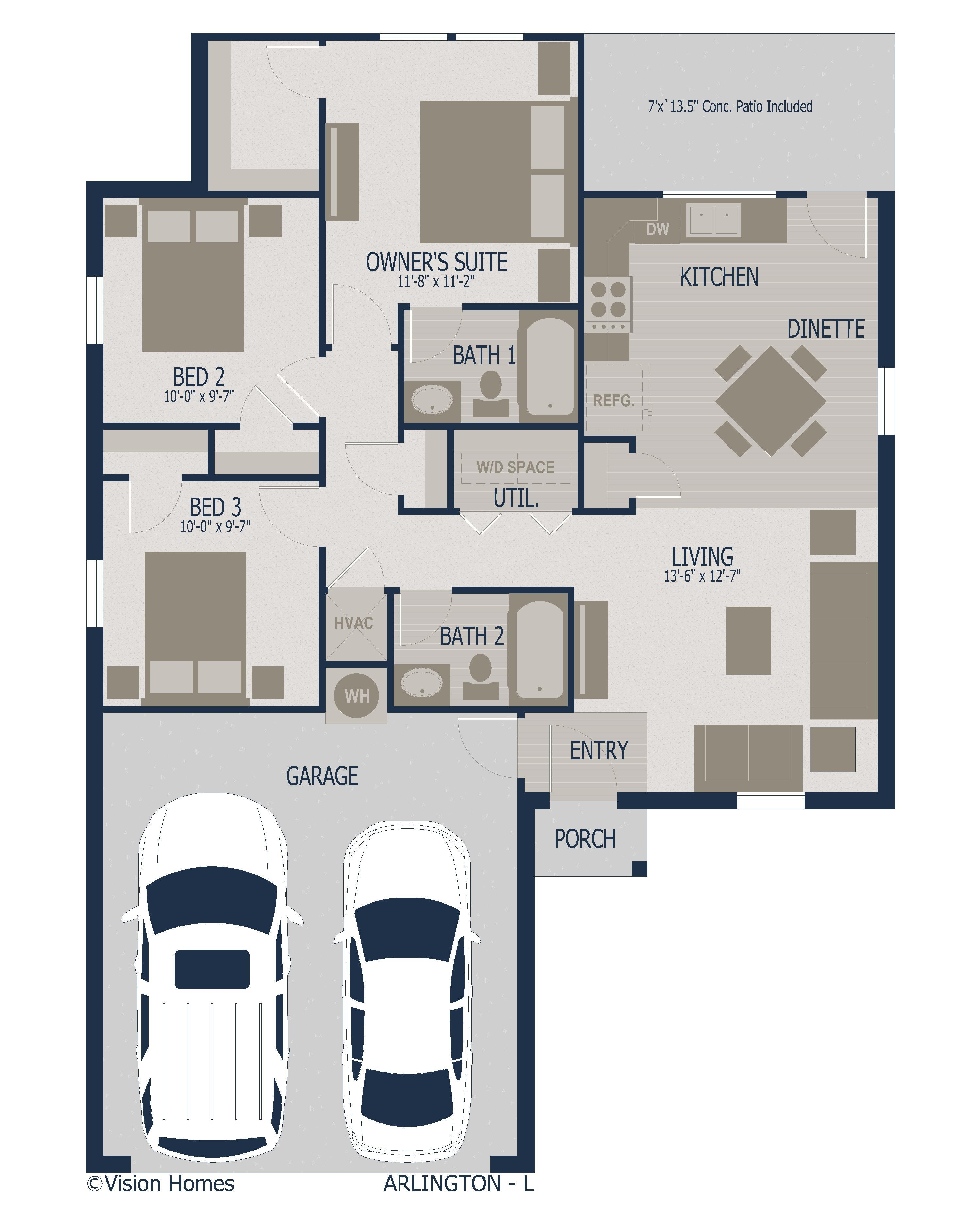 Arlington Floorplan